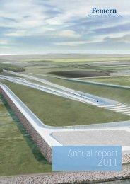 Annual report 2011 - Femern