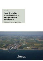 Krav til mulige arbejdspladser – Puttgarden og Rødbyhavn