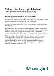 RUC Karrieremesse - projektkatalog - Femern Belt Development