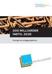200 milliarder indtil 2025 - Klar til nye muligheder