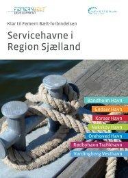 Servicehavne i Region Sjælland - Femern Belt Development