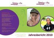 Download des Jahresbericht 2010 - femina vita