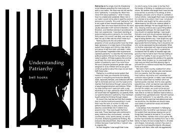 Understanding Patriarchy (pdf) - No Borders