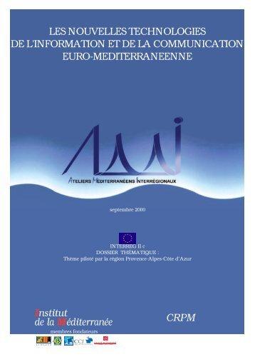 Institut de la Méditerranée LES NOUVELLES ... - Femise