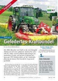 Gefedertes Kraftbündel - Fendt LK Tech