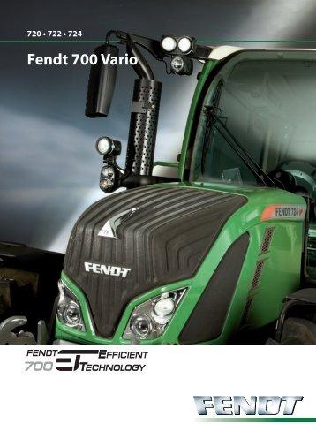 Fendt 700 Vario - Fendt LK Tech