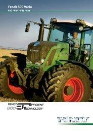 Fendt 800 Vario - L'entreprise agricole NIX JM