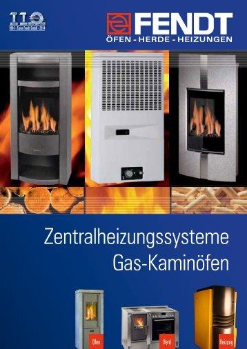Zentralheizungssystem Gas-Kaminöfen - Eisen Fendt GmbH