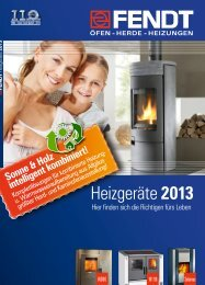 gesamter Heizgeräte Katalog (20 MB) - Eisen Fendt GmbH