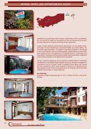 akyaka: hotel und appartements huzur - Fener Reisen GmbH