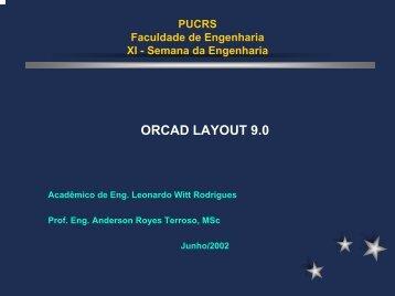 Apostila do OrCad - Faculdade de Engenharia - pucrs
