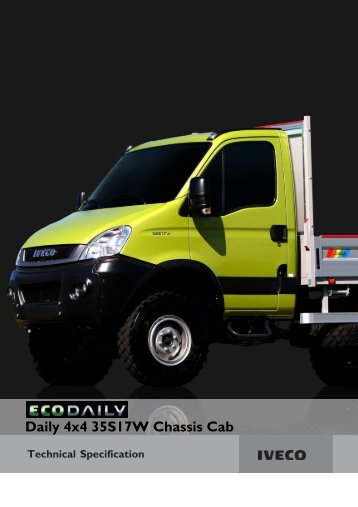 Daily 35S17W 4x4 Chassis Cab.pmd