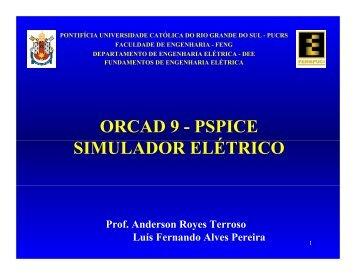 Tutorial ORCAD - Faculdade de Engenharia - pucrs