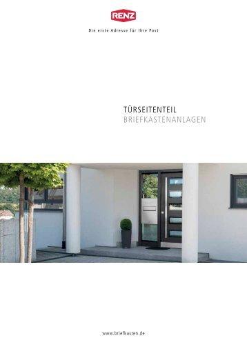 TürseiTenTeil BriefkasTenanlagen - Renz