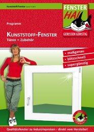 Kunststoff-fenster - FensterHAI