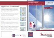 SGIC Solar-Isolierglas CLIMATOP LUX und LUX Light