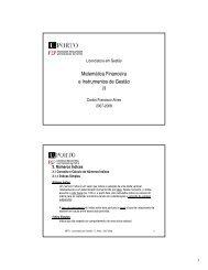 Matemática Financeira e Instrumentos de Gestão - FEP