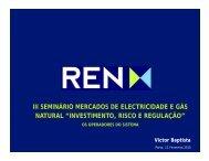 Eng.º Vitor Baptista - Conselho de Administração da REN - FEP