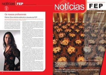 NotíciasFEP Nº 0 - FEP - Universidade do Porto