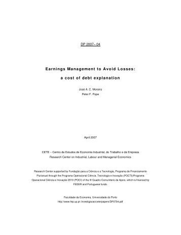 voluntary disclosure earnings quality and cost of capital pdf