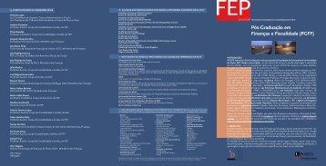 Edição 2007/08 Brochura - FEP - Universidade do Porto