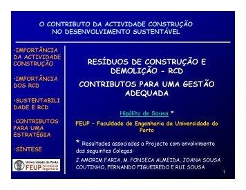 GPconstruçaosustentavel - FEP - Universidade do Porto