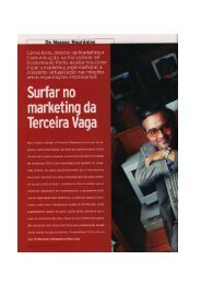Surfar no Marketing da Terceira Vaga - FEP