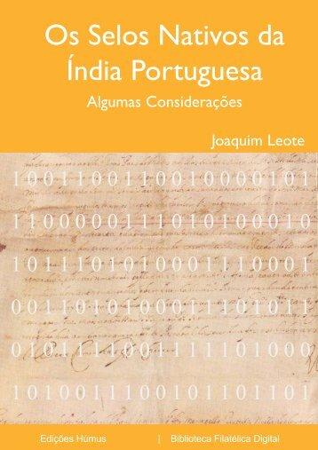 Os Selos Nativos da Índia Portuguesa - FEP