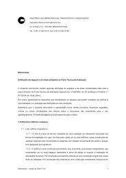 1 Memorando Definições de espaços e de áreas utilizados na ... - FEP