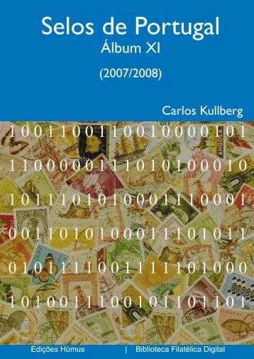 Selos de Portugal - Álbum XI (2007-2008) - FEP