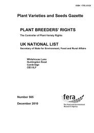 December (PDF 117KB) - The Food and Environment Research ...
