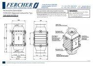 Abgas - FERCHER | Abwasser