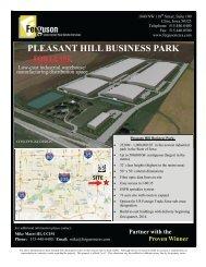 pleasant hill business park - Ferguson Commercial Real Estate ...