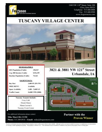 3821 NW 121st Street - Ferguson Commercial Real Estate Services