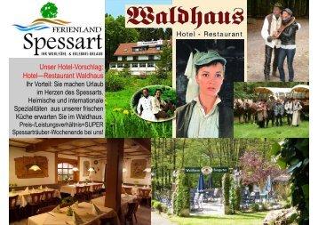 Hotel Waldhaus - Ferienland-spessart.de