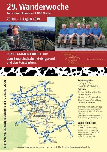 29. Wanderwoche - Bad Fredeburg
