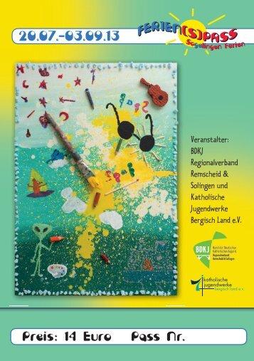 Infoheft 2013 (pdf mit 6,96 MB) - Ferien(s)