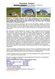 "Ferienhaus ""Kampen"" - Ferienvermietung-online.de"