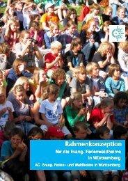 Rahmenkonzeption für die evang. Ferienwaldheime in Stuttgart