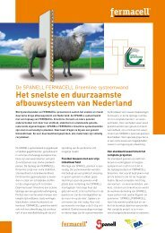 SPANELL FERMACELL Greenline systeemwanden