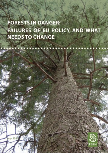 forests in danger: failures of eu policy and what needs to ... - Fern