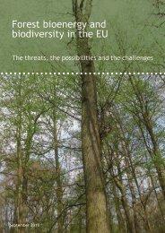 2010-01 Forest bioenergy and biodiversity in the EU.pdf - Fern