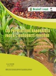 Etude sur l'impact Plantations palmiers à huile - Fern