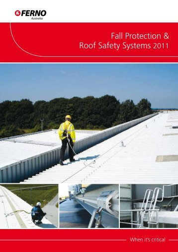 Fall Protection & Roof Safety Systems 2011 - Ferno