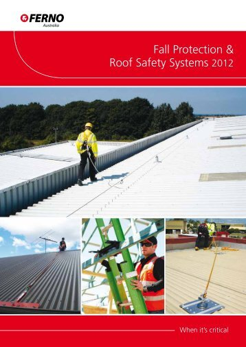 Fall Protection & Roof Safety Systems 2012 - Who-sells-it.com