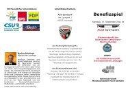B Benefizspiel - Bayerischer Gehörlosen Sportverband ev