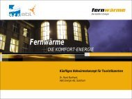 Wärmeverbund Saas-Fee - Verband Fernwärme Schweiz