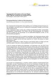 Zusammenfassung - Verband Fernwärme Schweiz