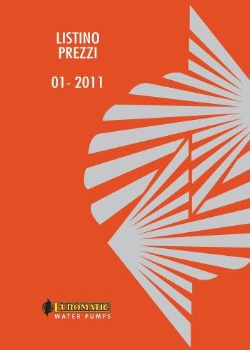 LISTINO PREZZI 01- 2011 - Ferramenta.Biz