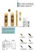 Kit porte scorrevoli Flowing doors kit - Ferramenta.Biz - Page 7